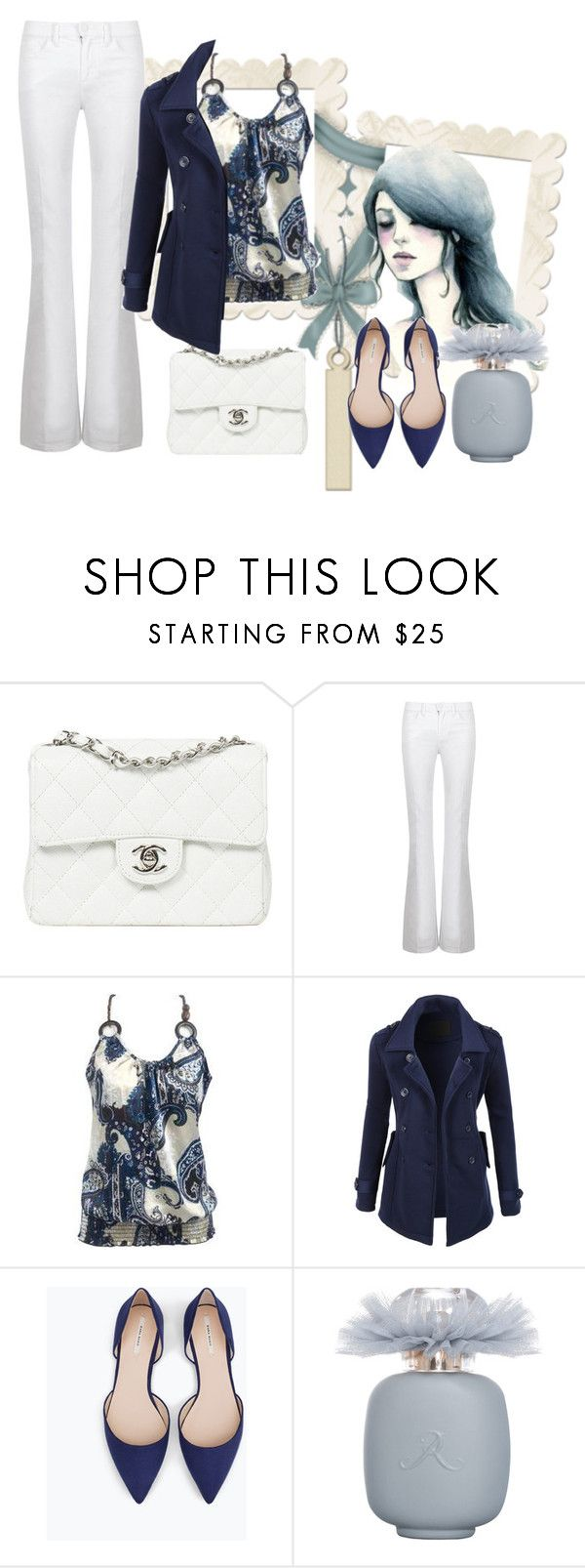 """""""Untitled #135"""" by jovana-p-com ❤ liked on Polyvore featuring Valentino, Tory Burch, LE3NO, Zara, Les Parfums De Rosine, women's clothing, women, female, woman and misses"""