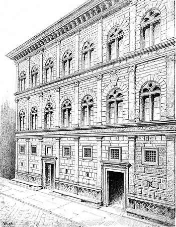 Palazzo Rucellai de Leon Battista Alberti  arte  Pinterest