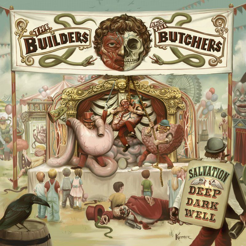 the builders and the butchers, salvation is a deep dark well
