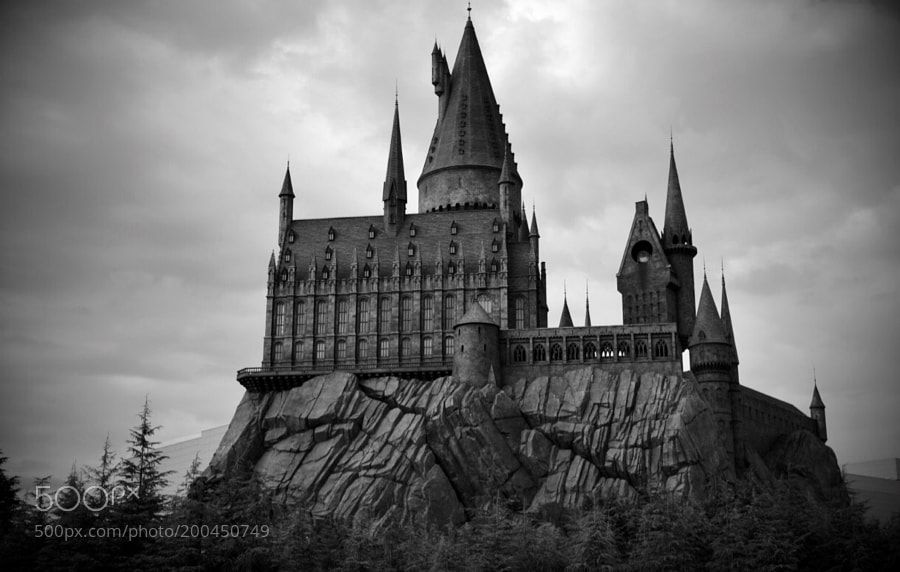 Hogwarts School Replica by maheshgsh