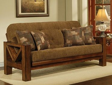 Bradley S Furniture Etc Rustic Log And Barnwood Futons