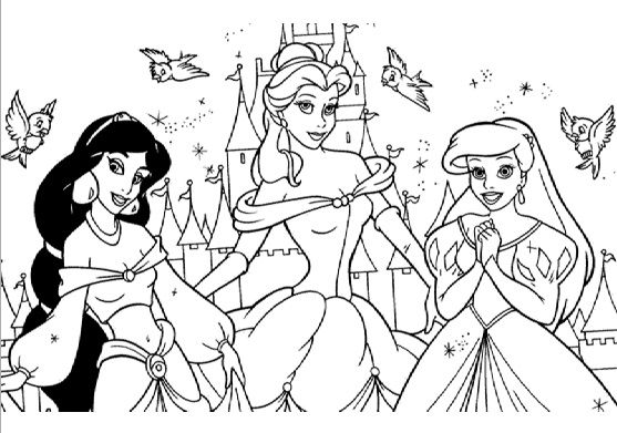 Pin By Leslie On Disney Coloring Pages Games Disney Princess Coloring Pages Disney Princess Colors Princess Coloring Pages