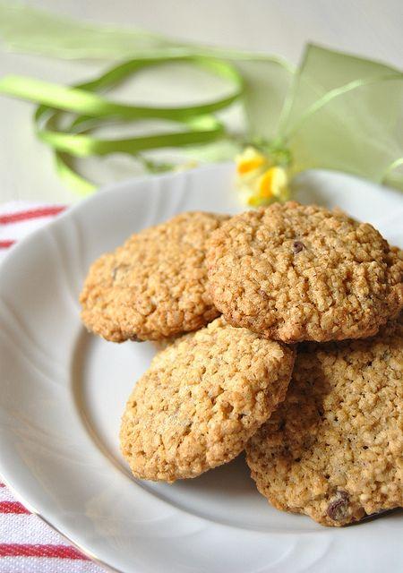 Flourless Oatmeal cookies by Baker's Corner, via Flickr