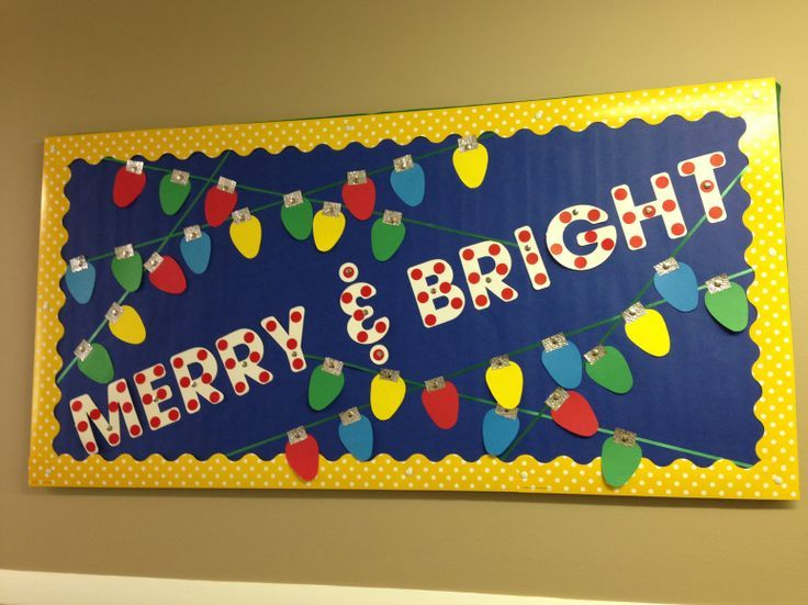 8 Christmas Bulletin Boards