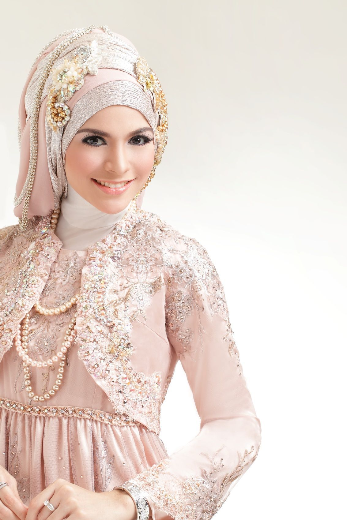 New Bridal Hijab Styles 2012 Wedding Hijab Styles And Style