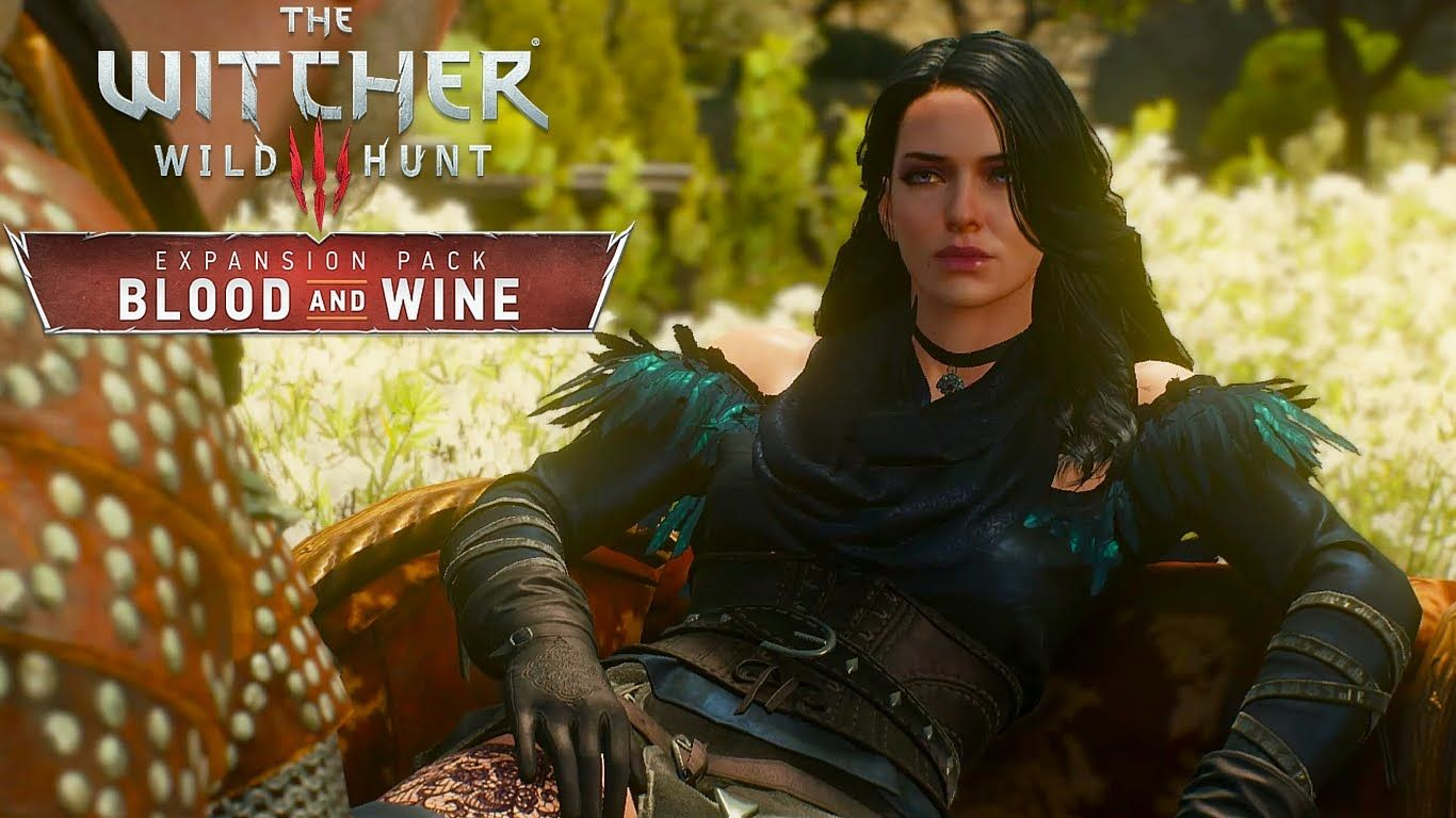 Yennefer in The Witcher 3 Blood and Wine [Romantic Scene