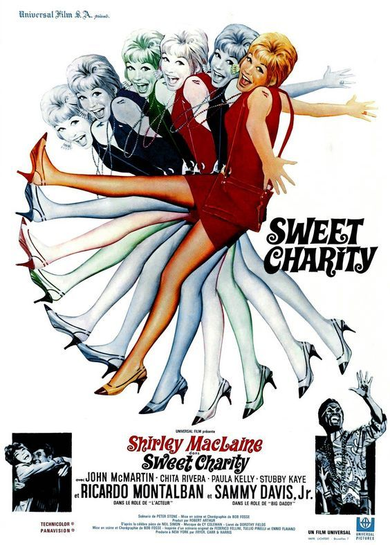 Sweet Charity (1969) MOVIE POSTERS Pinterest - Charity Evaluation