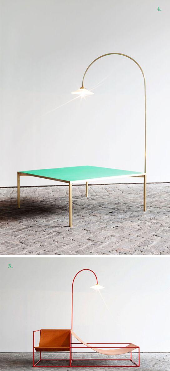 green/gold for our dining table?Design Crush: Muller Van Severen.