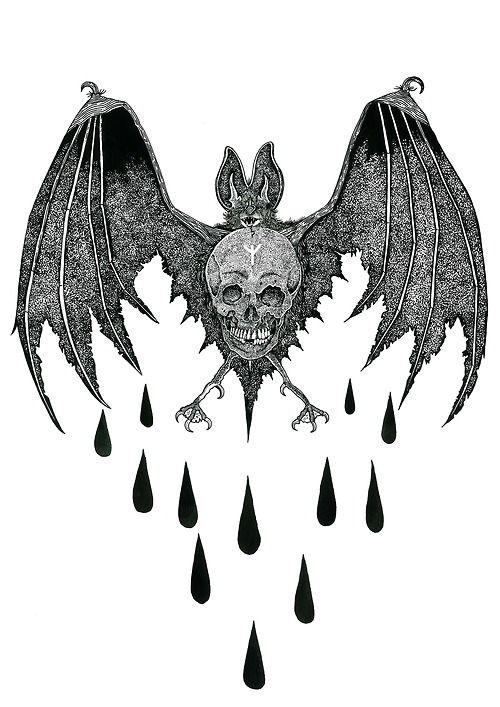 Original Sin eater artwork  Pen and ink 2012