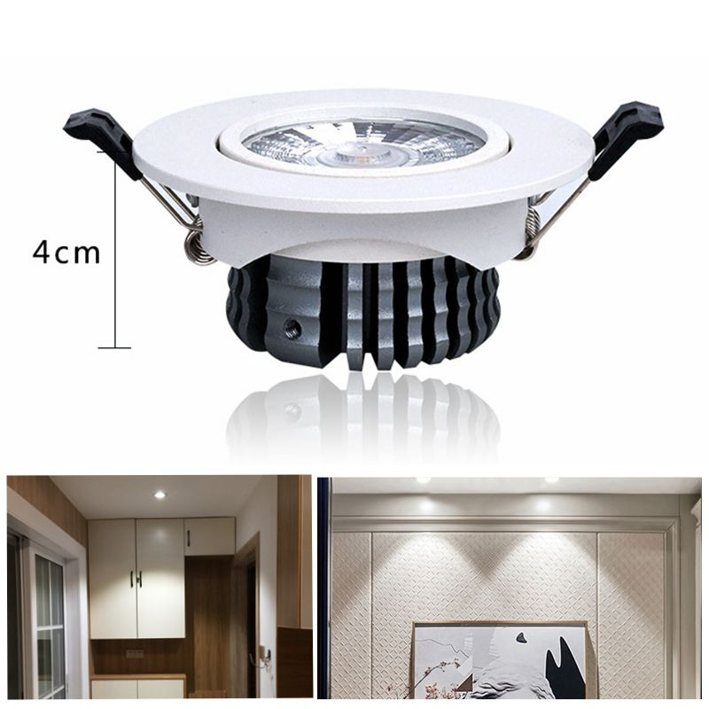 Dimmable 5w 10w 20w Led Recessed Ceiling Lights Slim Design Down Lamps Home Lighting New Ultra Thin Ceiling Lights Plafond Lampe Led