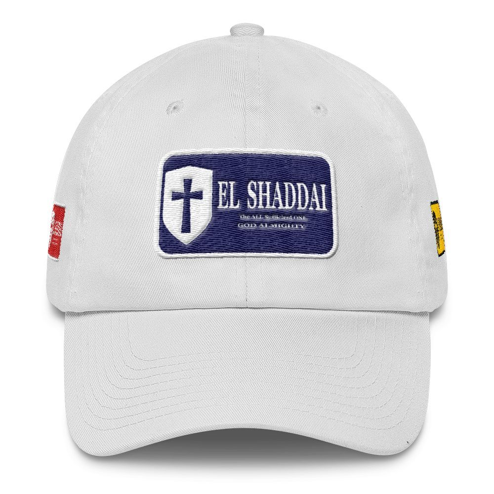 Cotton Cap(3D Puff Embroidery) - EL SHADDAI