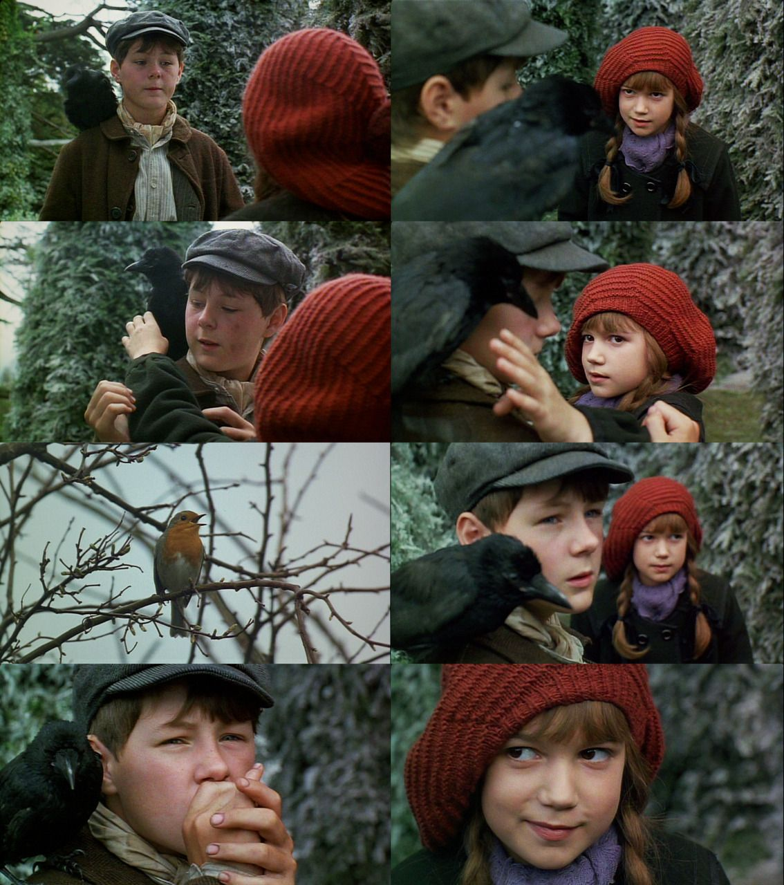 Mary and Dickon from the Secret Garden, gosh I love them