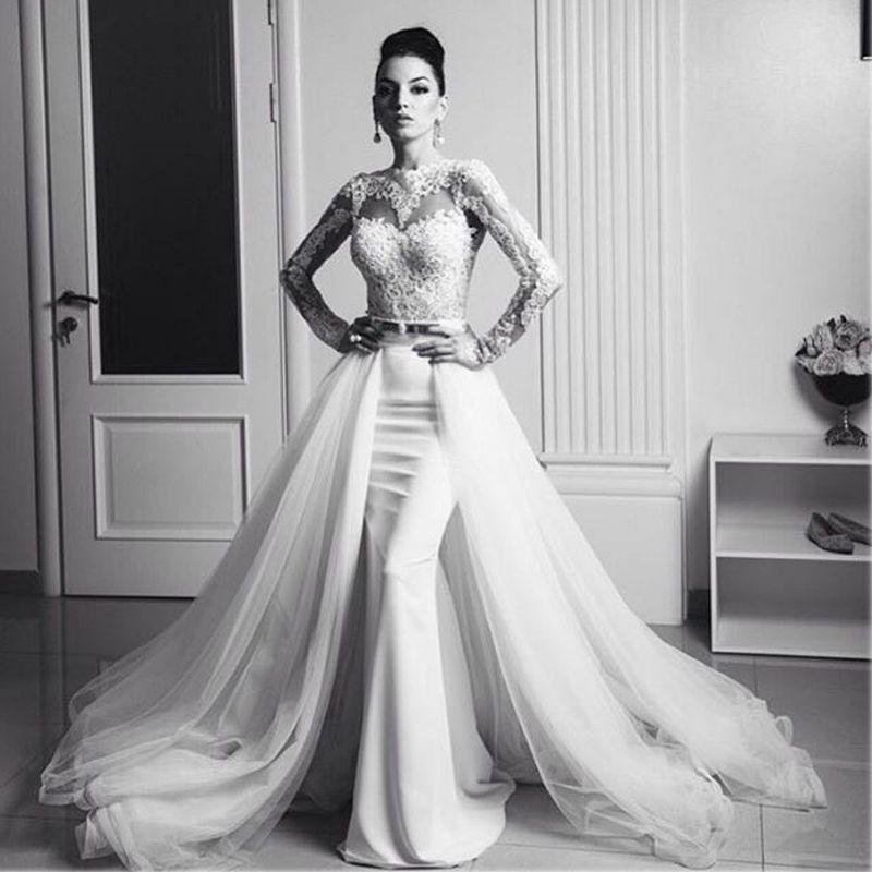 Black Wedding Dress With Detachable Train: Aliexpress.com : Buy Custom Made New Arrival Arabian