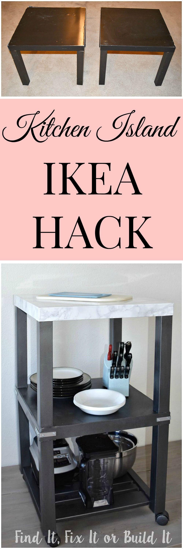 kitchen island ikea hack studio pinterest schuhregal einrichtung und diy m bel. Black Bedroom Furniture Sets. Home Design Ideas