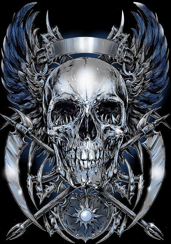 metal by rafal wechterowicz | Blue by Rafal Wechterowicz
