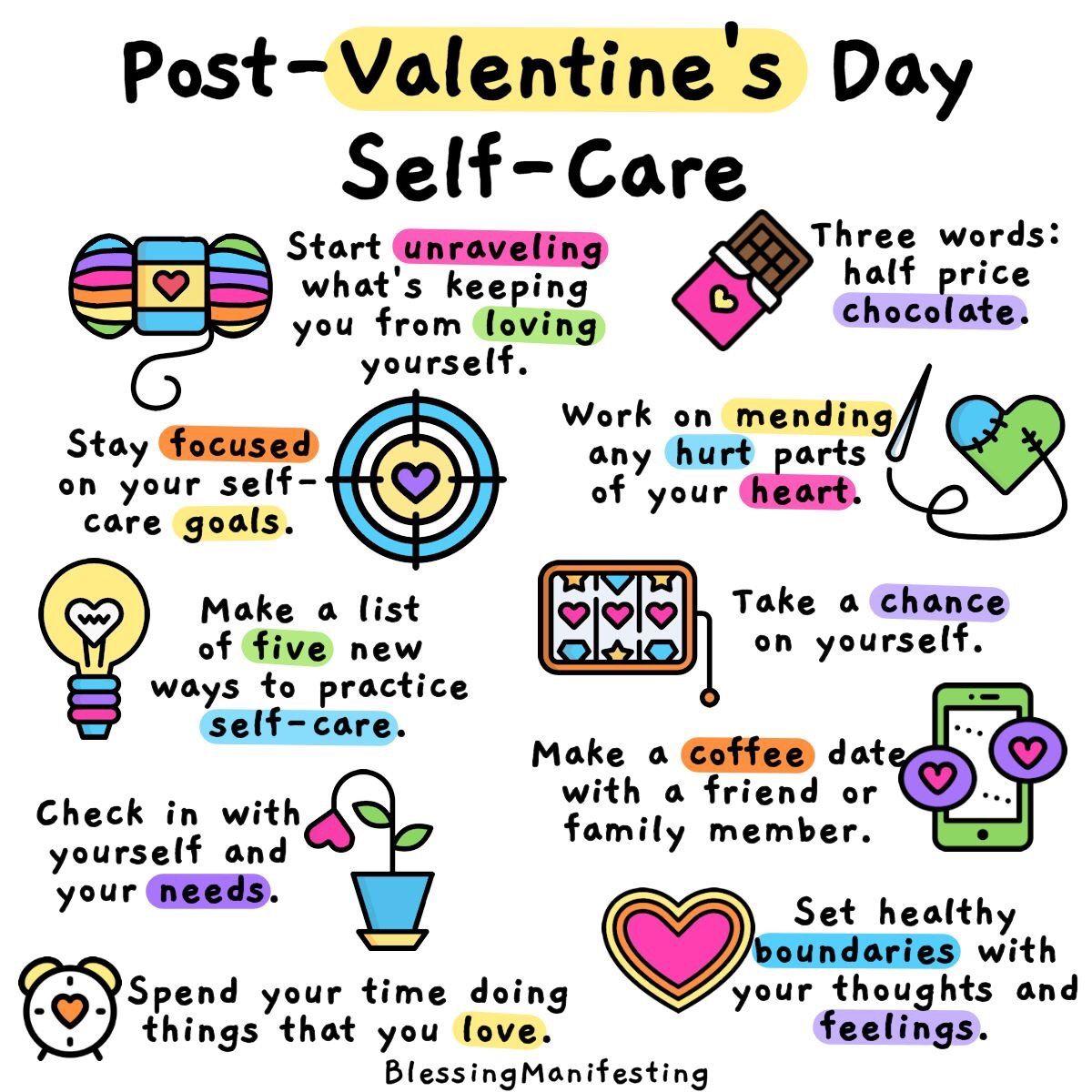 Post Valentine S Day Self Care In