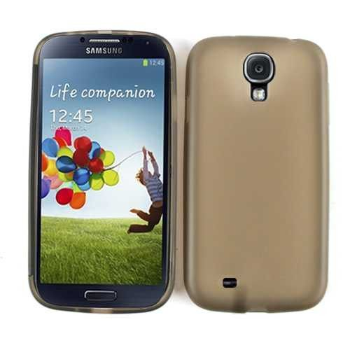 Unlimited Cellular Hybrid Novelty Case for Samsung Galaxy S4 (Smoke Skin with Screen Protector)