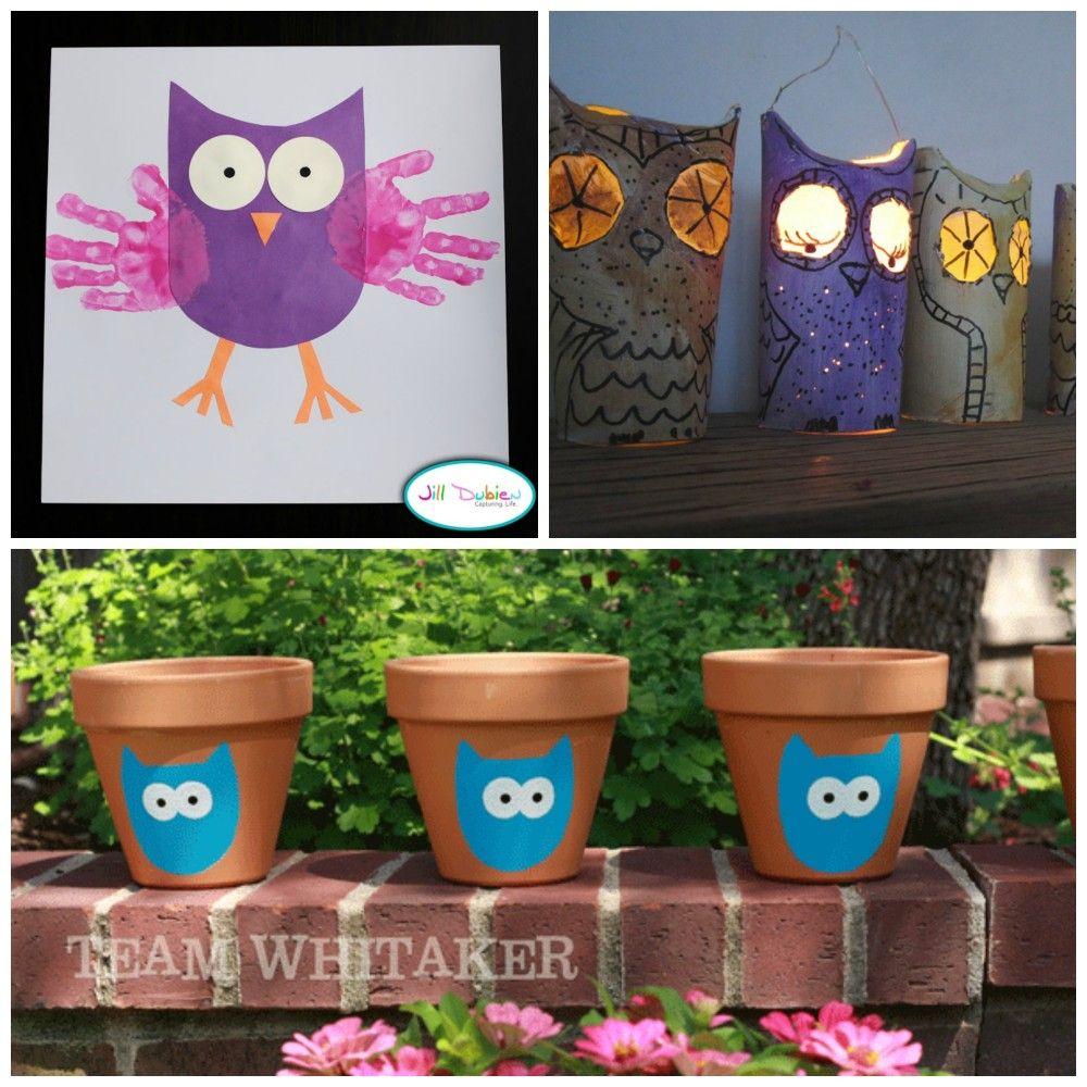 eulen kindergeburtstag bastelideen eilen owl. Black Bedroom Furniture Sets. Home Design Ideas