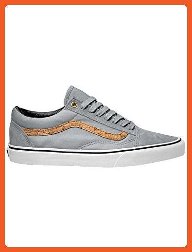 4ef4d1ad38 Vans Old Skool Side Stripe High Rise Cork Men s Classic Skate Shoes Size  9.5 - Athletic shoes for women ( Amazon Partner-Link)