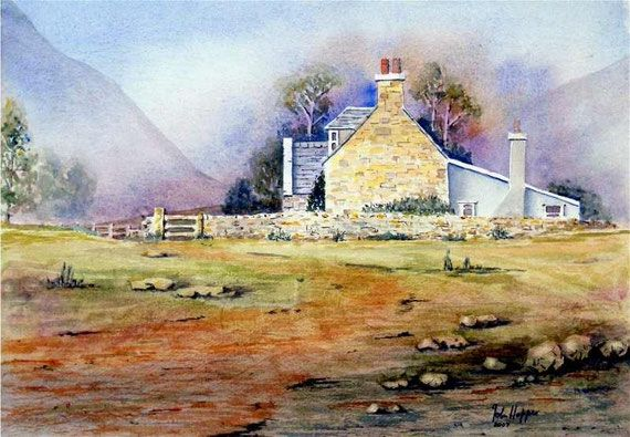 Scottish cottage by JJH