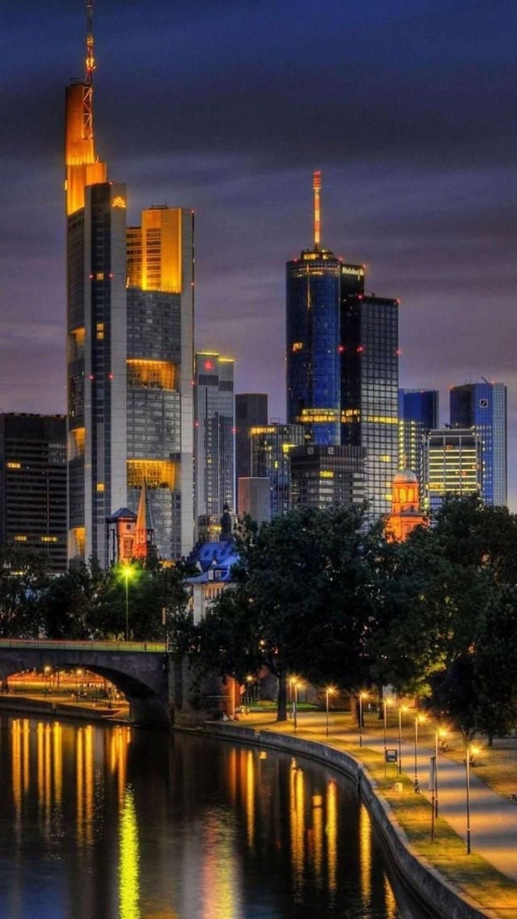Sign In Amazing Travel Destinations Frankfurt Cityscape