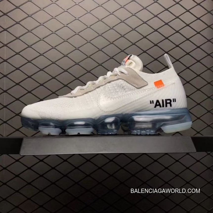 New Style Men 2018 Nike Air Vapormax X OffWhite SKU15981236