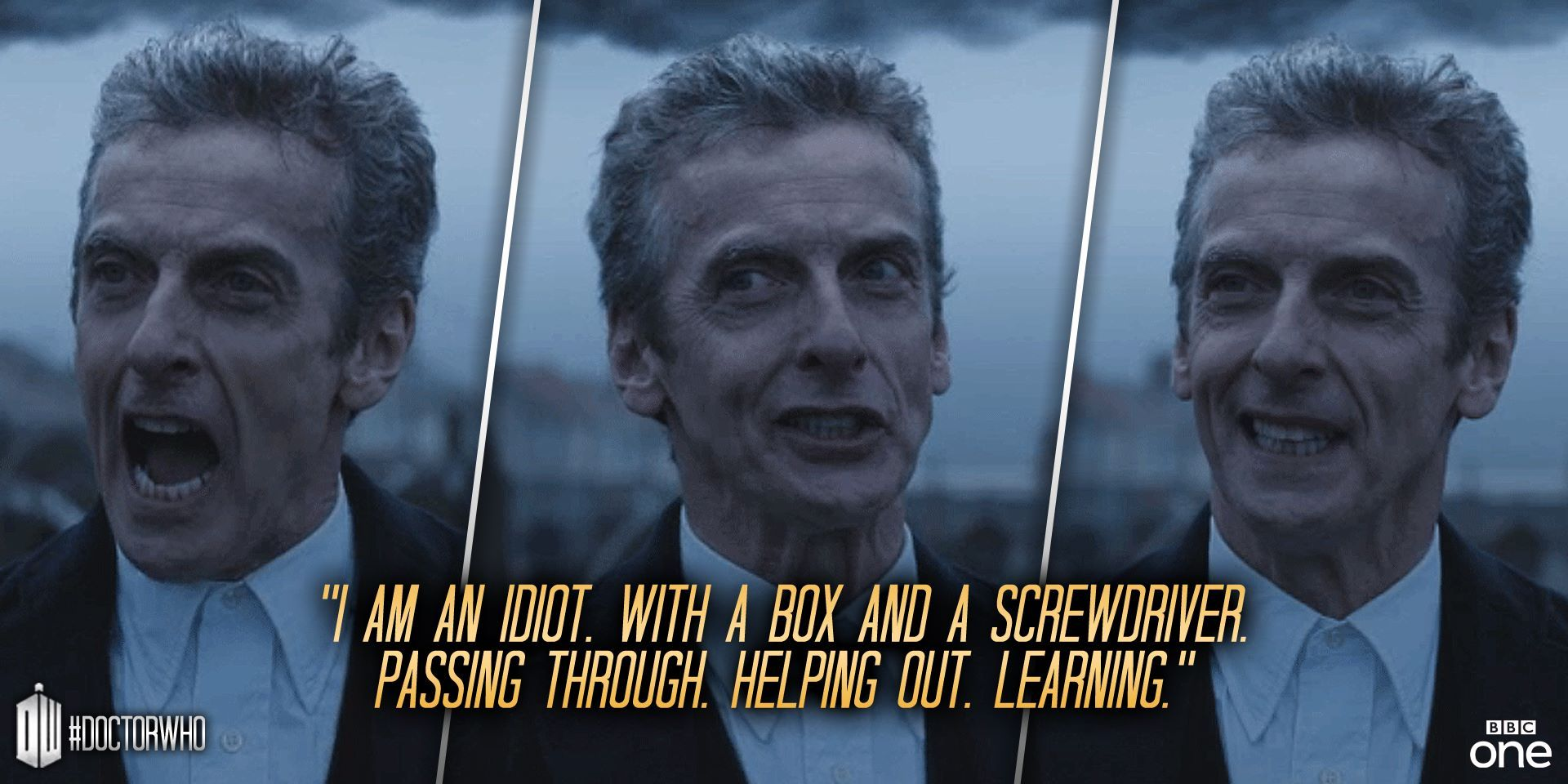 Image result for dr who i am an idiot
