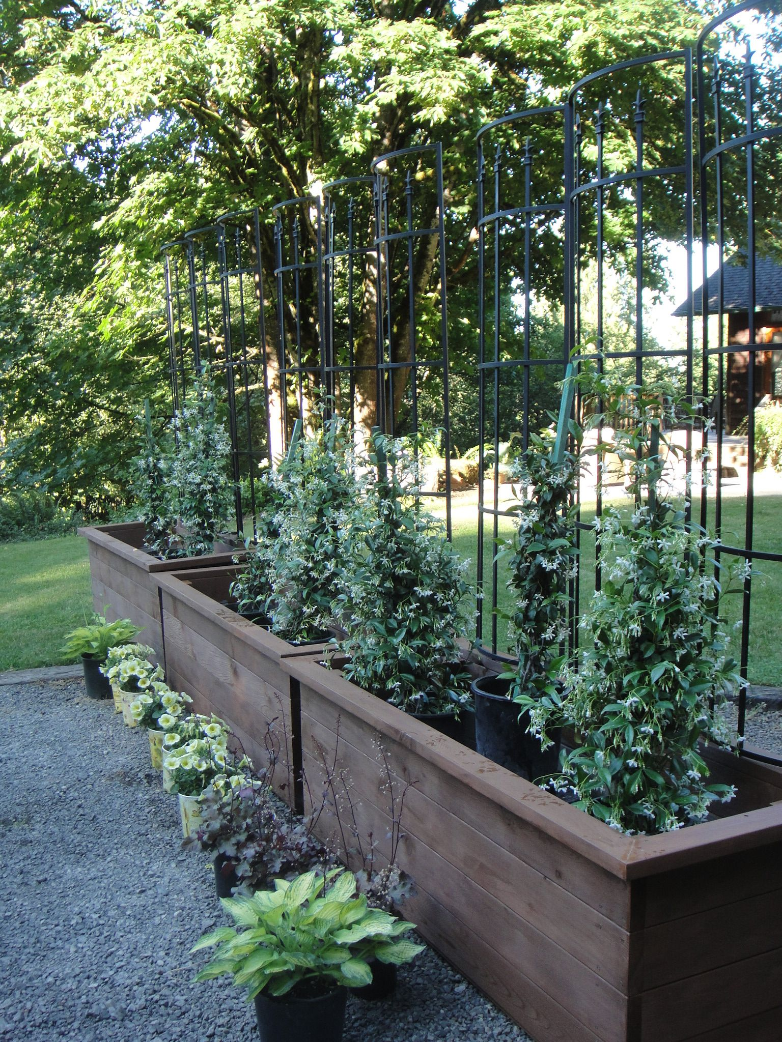 ideas rail plans design planter deck planters home
