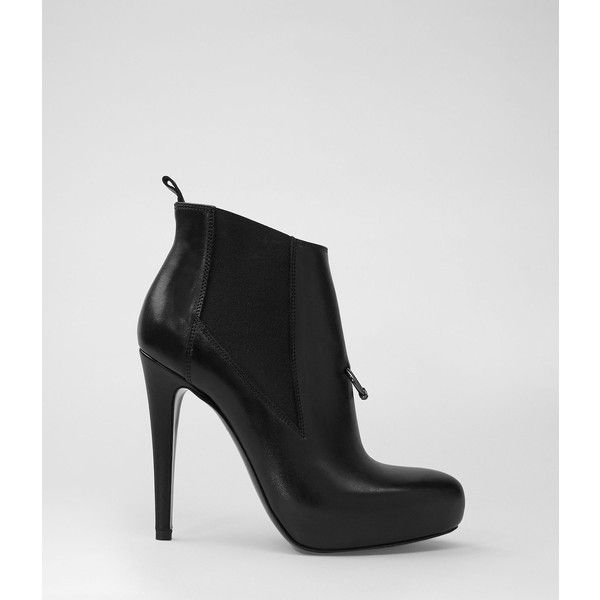 AllSaints Pierced Heel ($129) via Polyvore | Shoes women