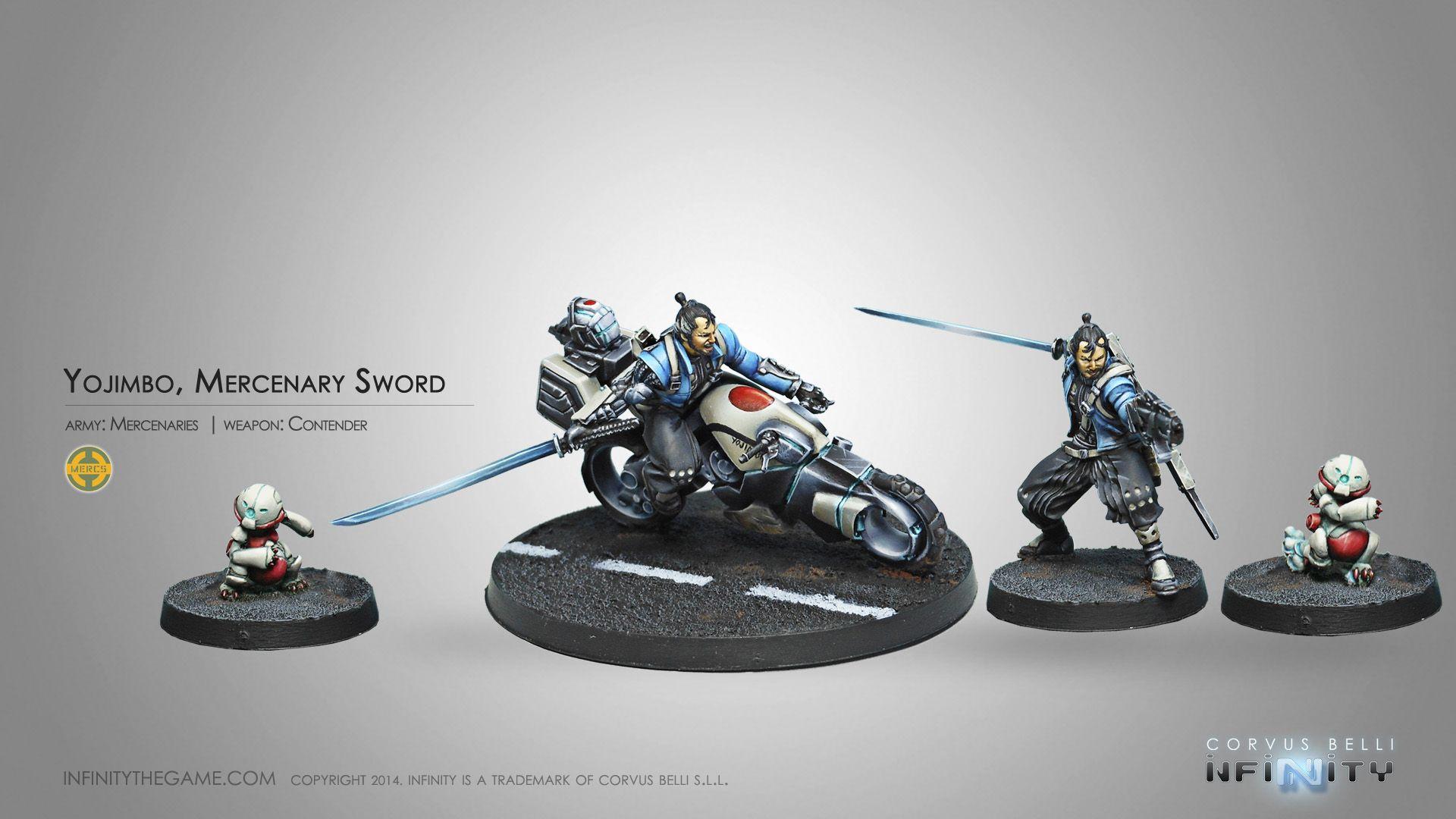 Yojimbo, Mercenary Sword (Contender)