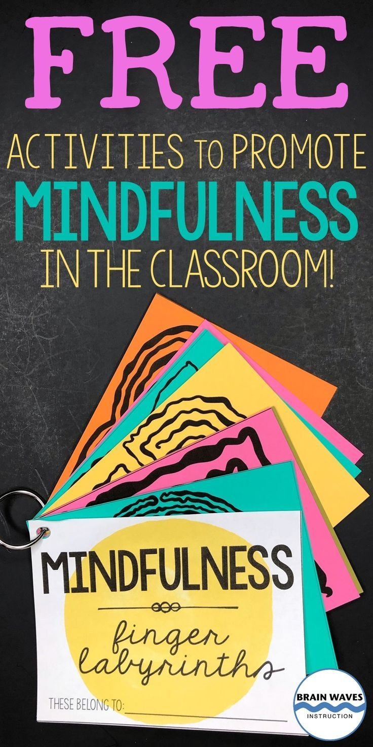Check out this collection of mindfulness activities! Discover how mindfulness can help students. Then, download the free mindfulness quotes and finger labyrinths to easily infuse mindfulness into any classroom!