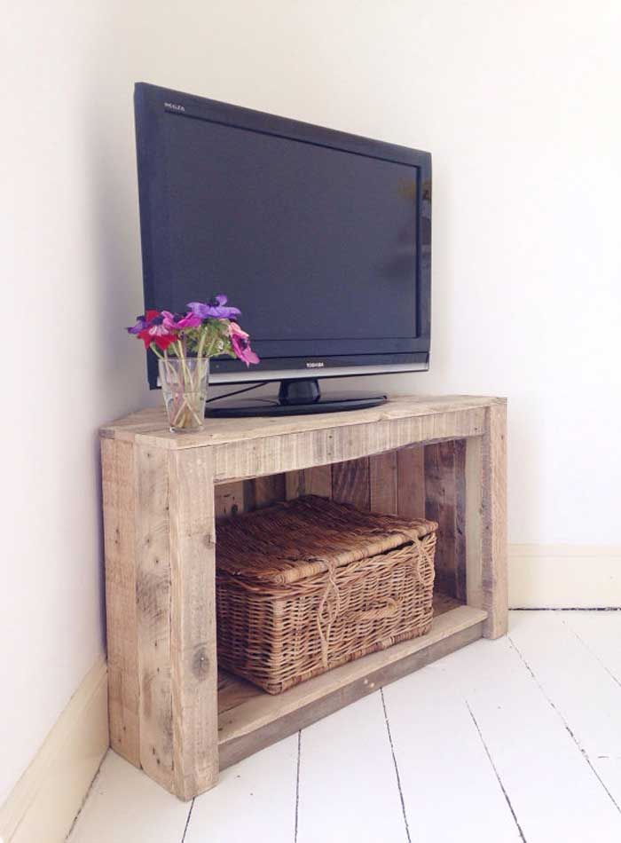 21 Diy Tv Stand Ideas For Your Weekend Home Project With Images