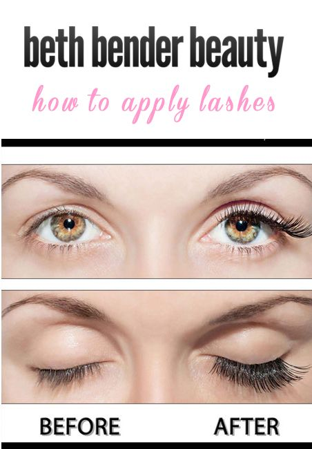 bc083f250a6 5 Tips to Applying Faux Lashes like a pro! #protips #lashes #eyemakeup  #bethbenderbeauty