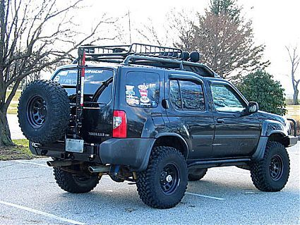 Shrockworks Rear Bumper And Spare Tire Carrier For A 1st Gen Xterra Nissan Xterra Nissan Nissan 4x4