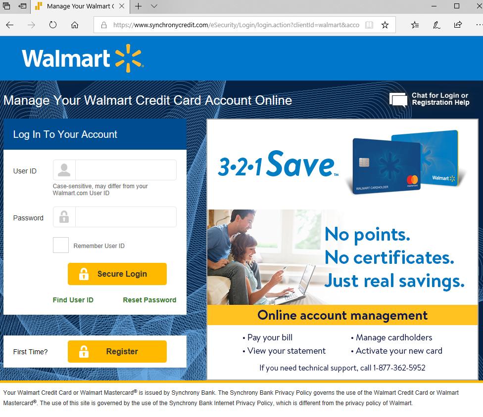 Review Of Walmart Credit Card
