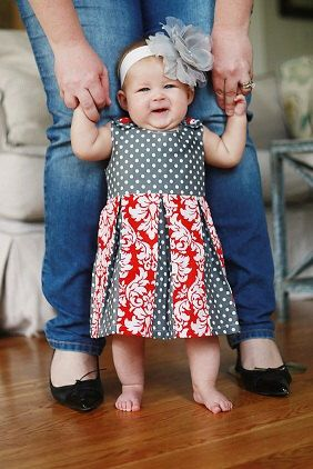 Toddler dress pattern, Girl's dress sewing pattern, Spring/Summer Dress by ThreadCouture on Etsy https://www.etsy.com/listing/241411770/toddler-dress-pattern-girls-dress-sewing