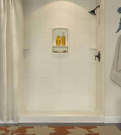 Sqmk96 3662 Jpg Swanstone Square Tile Prefab Shower Wall With