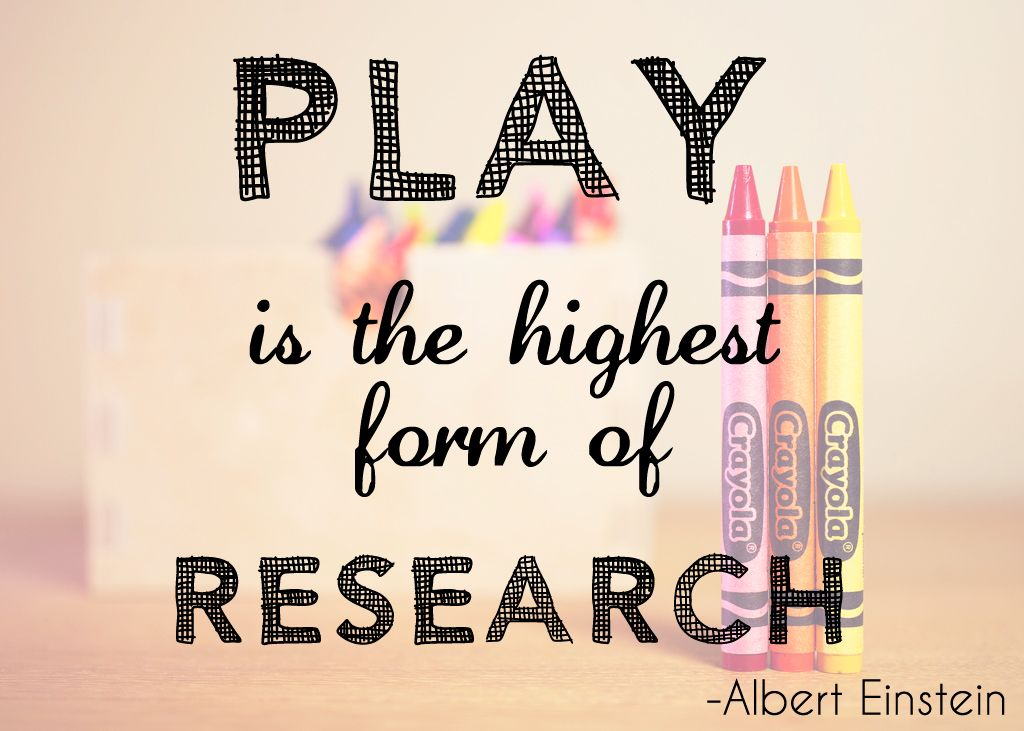 Education quote from Albert Einstein u0027Play is the highest form of - audit quotation