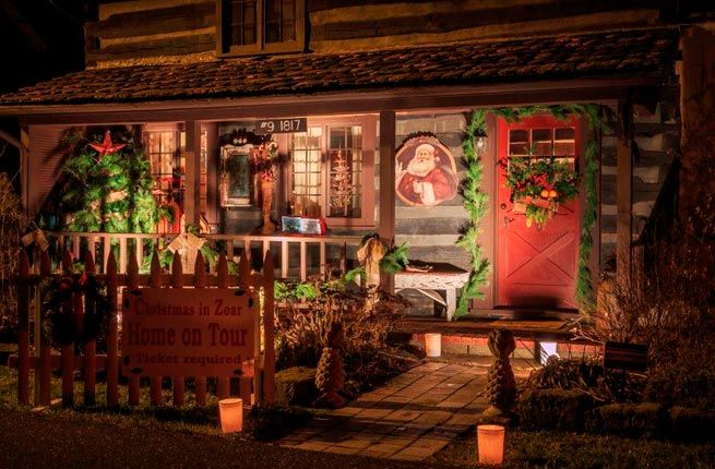 10 U S Towns With Incredible Christmas Celebrations Zoar Christmas Celebrations Christmas Town