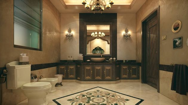 Bathroom Classic Design 20 Luxurious And Comfortable Classic Bathroom Designs  Bathroom