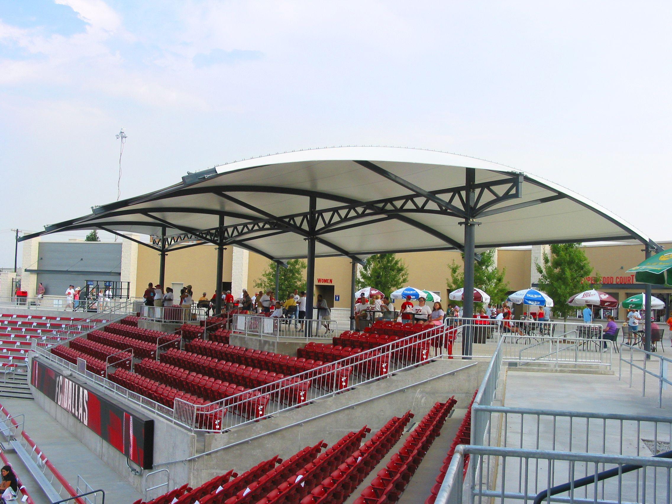 Grandstand Roof Design
