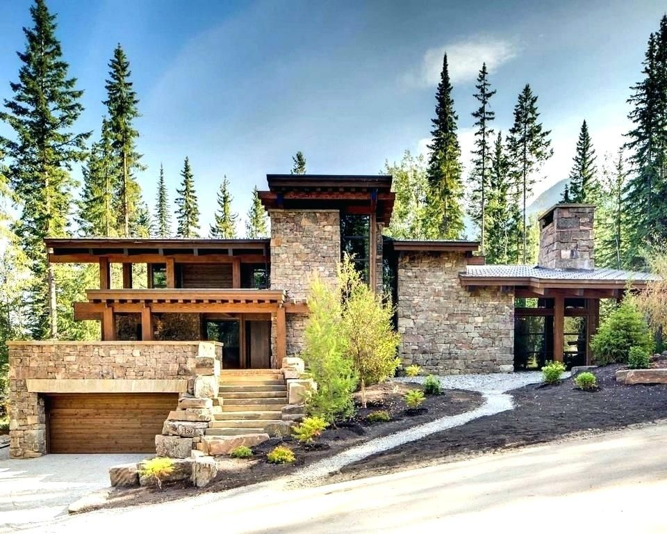 House Plans On Hillside Steep Slope House Plans Full Size Of Rustic Mountain Home Plans Rustic Home Ho House Exterior House Designs Exterior Architecture House