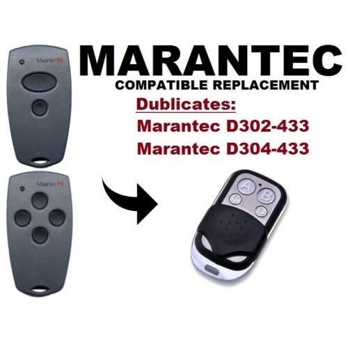 Marantec D302 D304 433mhz Garage Door Gate Replacement Remote Control Duplicator Garage Doors Door Gate Garage Door Remote Control