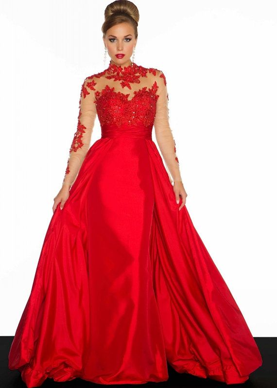 Cap Sleeve Pageant Gown