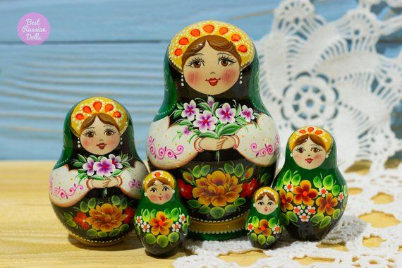 Russian Nesting Doll Gift For Woman Matryoshka Gift Idea For Her
