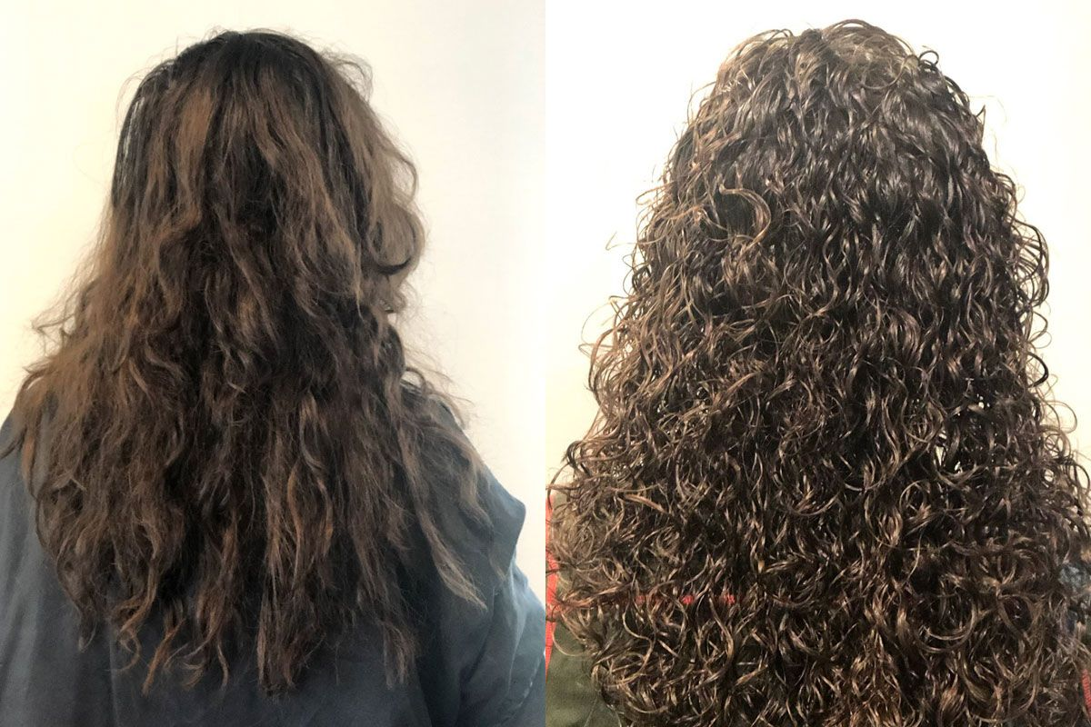 Ouidad Haircut  Ouidad haircut, Curly hair salon, Curly hair styles