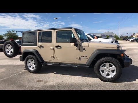 2017 Jeep Wrangler Unlimited Orlando Deltona Sanford Oviedo Winter Park Fl L636138 Fieldscjdr Sanford Florida Suv Car Suv Car
