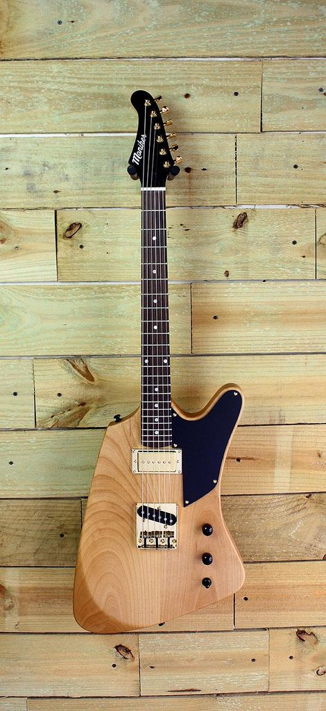 Moniker Custom Guitars - Natural Alder Tejas with Seymour Duncan ...