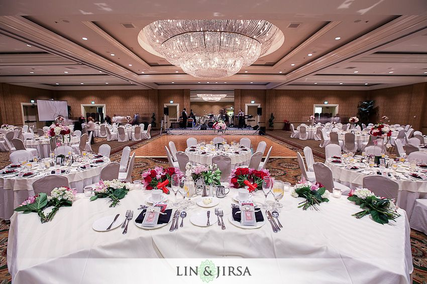 fairmont newport beach wedding reception
