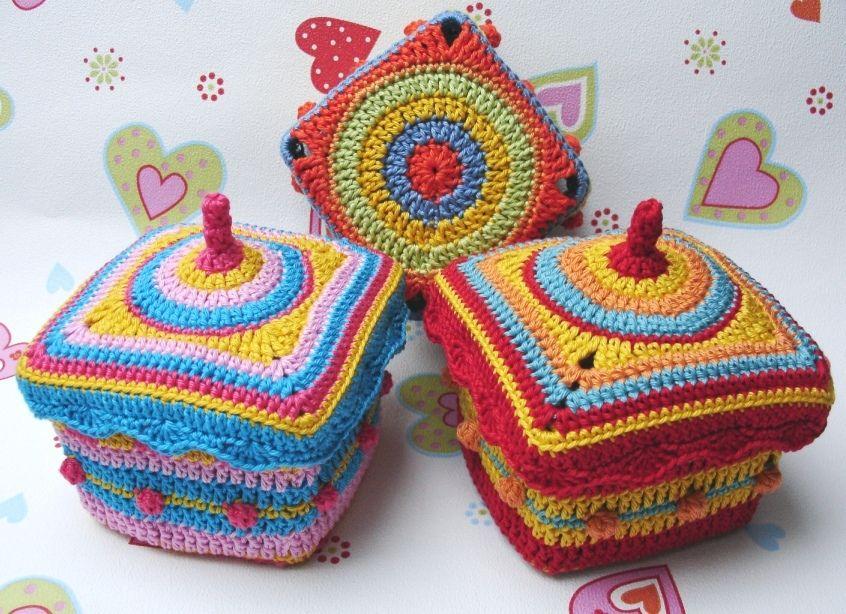 Crochet Boxes Physalis Körbchen Anastasia Häkelanleitung Pdf